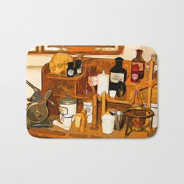 Old pharmacy Bath Mat