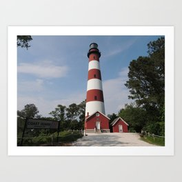 Chincoteague Lighthouse Art Print