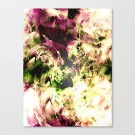 Floating Vintage Roses Canvas Print
