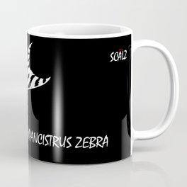 Zebra Pleco L-046  Coffee Mug