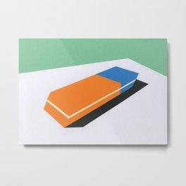 Eraser Metal Print