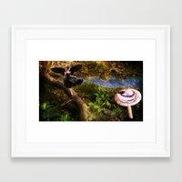 fairies Framed Art Prints featuring Fairies by OkidAisFeraL