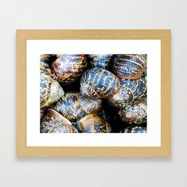 Snail Sleepover ! Framed Art Print