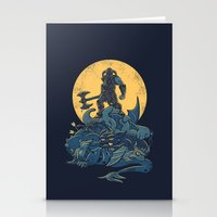 skyrim Stationery Cards featuring The Dragon Slayer by Fanboy30