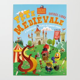 Medieval festival Poster