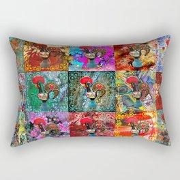 Galos de Barcelos, Portugal Rectangular Pillow
