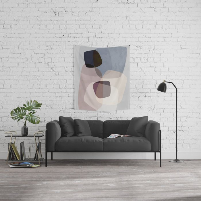 Graphic 194B Wall Tapestry