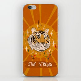 Stay strong iPhone Skin