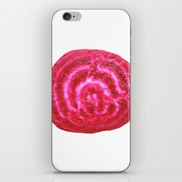 Beet single iPhone Skin