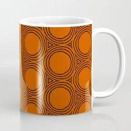Minimalist Orange Coffee Mug