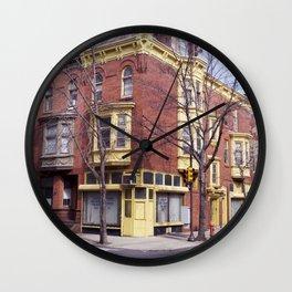 The Mustard Building Wall Clock