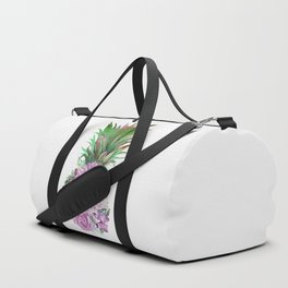 Floral Pineapple 1 Duffle Bag