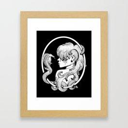 Medusa's Suicide Framed Art Print