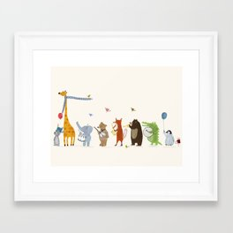 little parade Framed Art Print