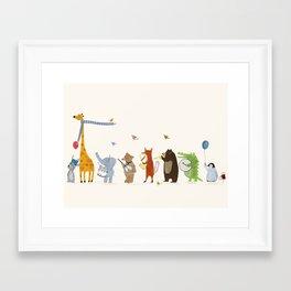 little parade Framed Art Print