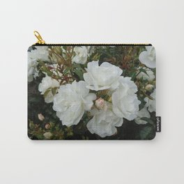 Shield of White Roses Carry-All Pouch