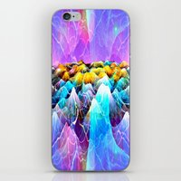 data iPhone & iPod Skins featuring Data Sea by NatalieCatLee
