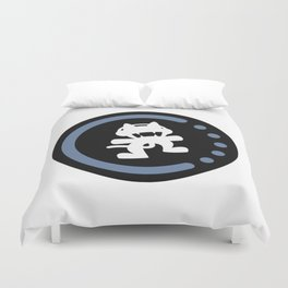 MonsterCat logo  Duvet Cover