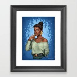 Tiana Framed Art Print