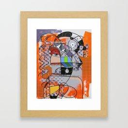 Chuva ácida Framed Art Print