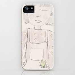 Sweet Girl and babies iPhone Case