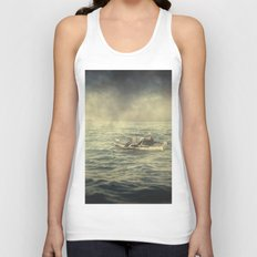 Old man and the sea Unisex Tank Top