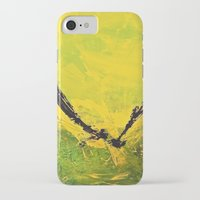 flight iPhone & iPod Cases featuring Flight by RvHART