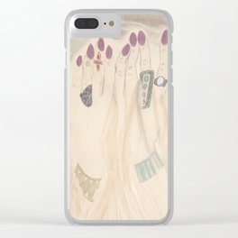 Slipping Through My Fingers Clear iPhone Case