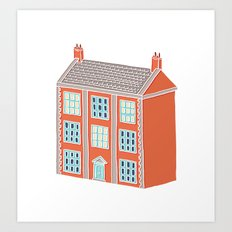 Little Big House Art Print