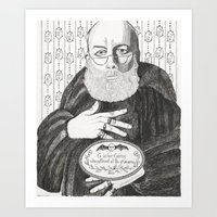 Gorey Art Print