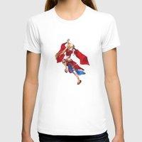 manga T-shirts featuring Manga Hero by SpaceMonolith