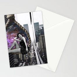 spaceship Stationery Cards