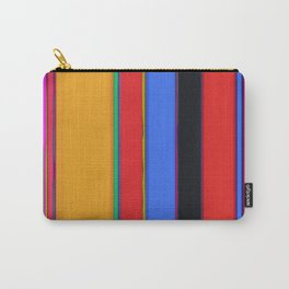 Bright stripes Carry-All Pouch