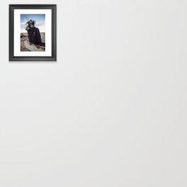Doernbecher 5 Angler Fish Sneakerhead Gas Mask Framed Art Print