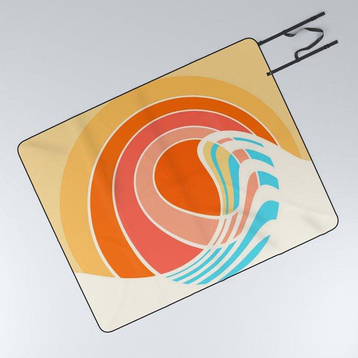 Sun Surf Picnic Blanket