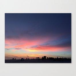 Siesta Key Beach Sunset Canvas Print
