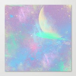Pastel Space Canvas Print