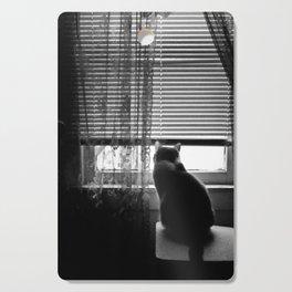 Window cat Cutting Board