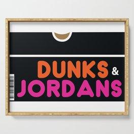 Dunks & Jordans Serving Tray