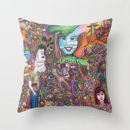 Take A Look Throw Pillow