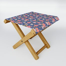 Dancing Florals Folding Stool