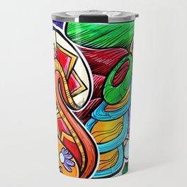 Azteca Moderno Travel Mug