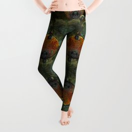 """Glass candy Mosaic (caramel pattern)"" Leggings"