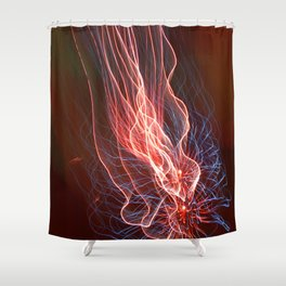 The Light Fantastic Display Shower Curtain