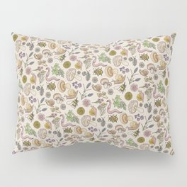 Bugs & Shrooms Pillow Sham