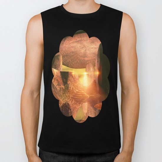 The old temple Biker Tank