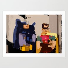 Holy Abstract Art! Art Print