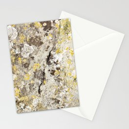 Lichen on The Rollright Stones Stationery Cards
