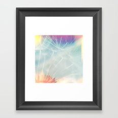make a wish... Framed Art Print