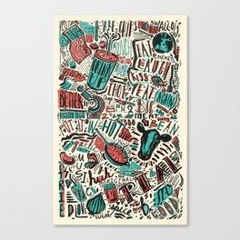 ChiliPot Pattern 1 Canvas Print